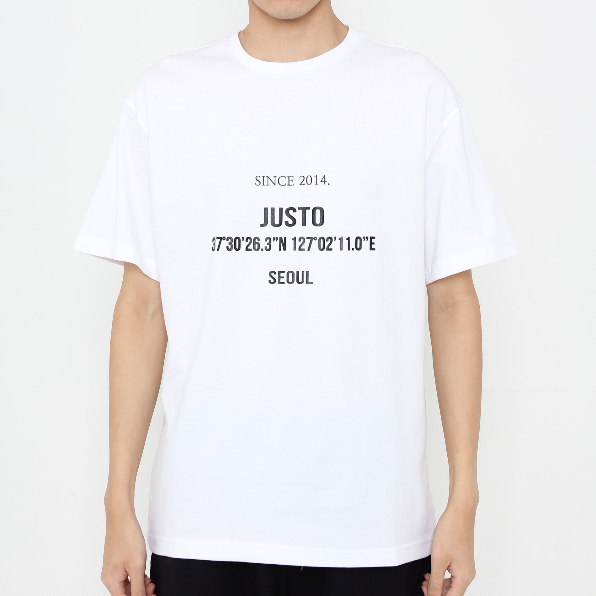 JUSTO LOUNGE T-SHIRTS[WHITE]